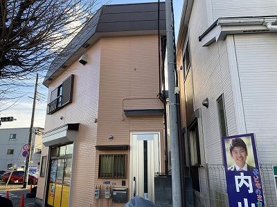 2021/01/15昭島市拝島町住宅塗装工事