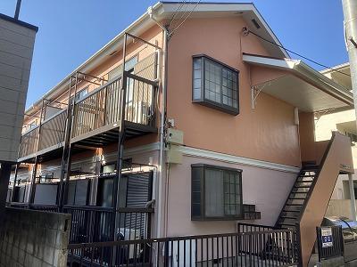 2021/04/28世田谷区羽根木アパート塗装工事