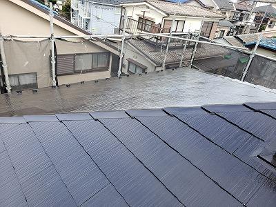 2021/01/15昭島市緑町住宅屋根塗装工事