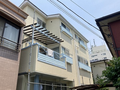 2021/08/09世田谷区羽根木住宅塗装工事