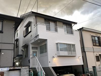 2021/01/20所沢市東狭山ヶ丘住宅塗装工事