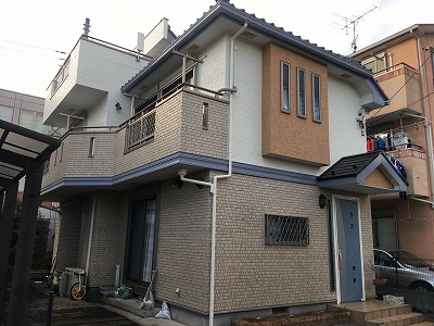 2020/03/28立川市柏町住宅塗装工事