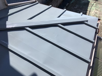2020/05/08青梅市河辺住宅トタン屋根塗装工事