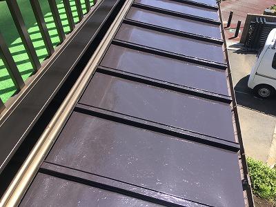 2020/04/17昭島市緑町トタン屋根塗装工事