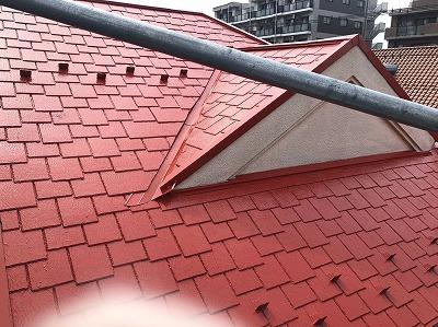 2020/10/11日野市万願寺十住宅屋根塗装工事