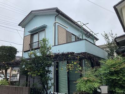 2020/11/02狭山市富士見住宅塗装工事