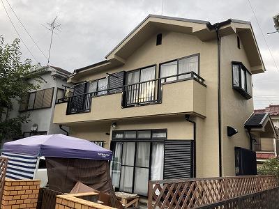 2020/11/03あきる野市平沢住宅塗装工事