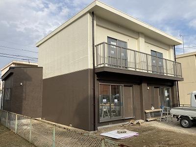 2021/04/28所沢市こぶし町住宅塗装工事