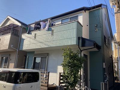 2021/05/21所沢市こぶし町住宅塗装工事