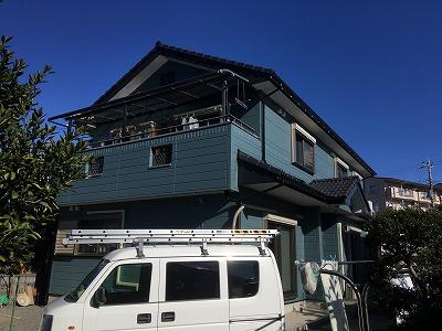 2020/01/22入間市下藤沢住宅塗装工事