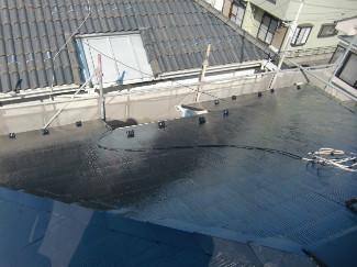 2015/4/21 昭島市昭和町住宅コロニアル屋根塗装工事