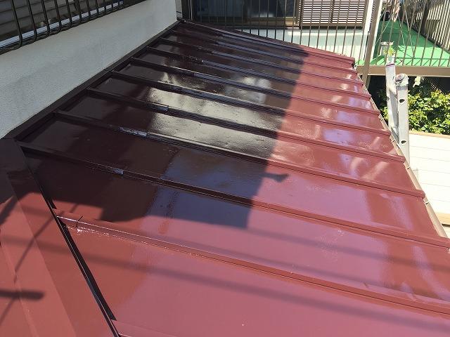 2018/04/26所沢市東狭山ヶ丘住宅トタン屋根塗装工事