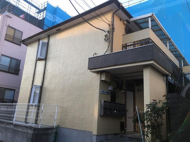 2019/12/06世田谷区松原アパート塗装工事