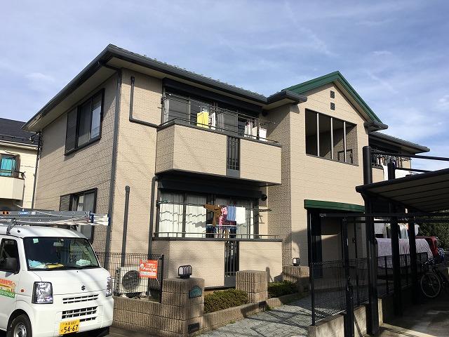 2018/12/24日野市石田アパート外壁塗装工事