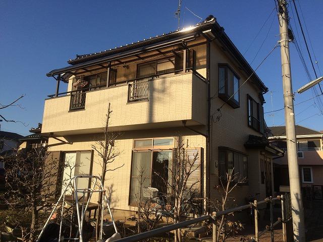 20018/03/02昭島市緑町住宅塗装工事