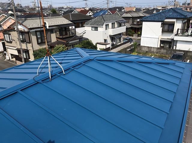 2018/07/25昭島市緑町住宅屋根カバー工事