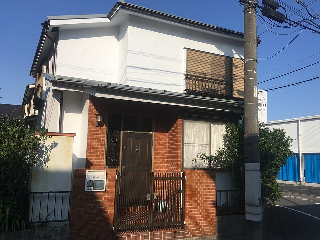 2019/08/12八王子市高倉町住宅塗装工事