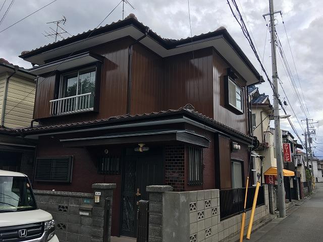 2018/07/07昭島市緑町住宅塗装工事