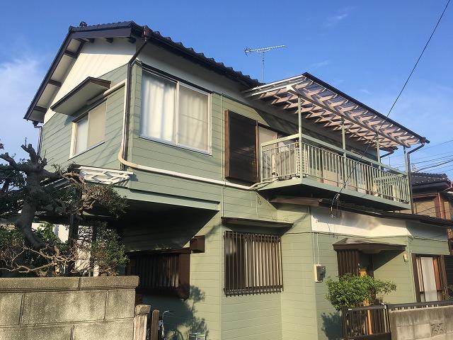 2019/08/27昭島市田中町住宅塗装工事