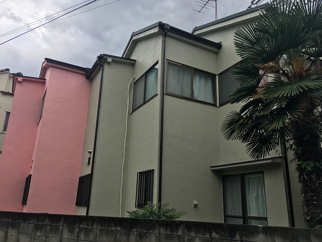 2018/09/12杉並区方南町住宅塗装工事
