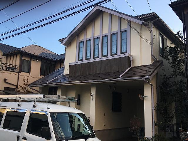 2018/01/06昭島市宮沢町住宅塗装工事