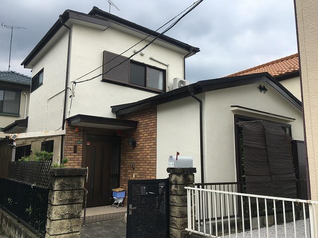2019/10/23瑞穂町むさし野住宅塗装屋根カバー工事