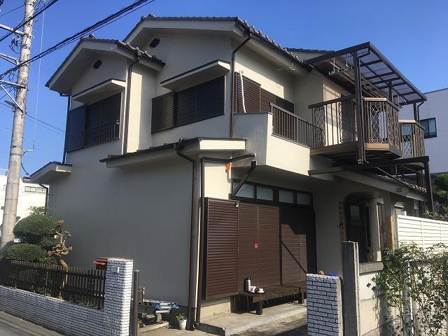 2019/11/11青梅市今井住宅塗装工事