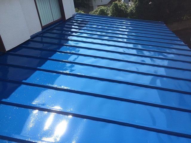 2016/06/27日野市大坂上住宅トタン屋根塗装工事