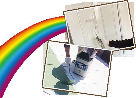 屋根・外壁の塗装や、ひび割れ補修・塗り替えは、守屋塗装にお任せください!!